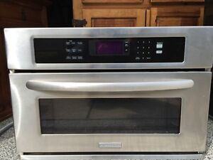 Kitchenaid high end microwave and convection oven