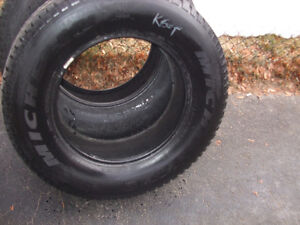 MICHELIN TIRES SET OF TWO M/S