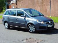 2007 Vauxhall Zafira 1.8 i 16v Life Easytronic 5dr