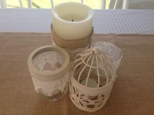 Wedding Decorations - Battery Operated Pillar Candles