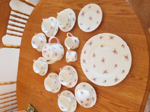 Shelley rose bridal set