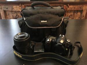 Nikon D50 DSLR & AF-S DX NIKKOR18-135mm f/3.5-5.6G IF-ED Lens