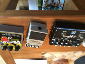Preamp EBS, Boss GEB7, EH knock-out