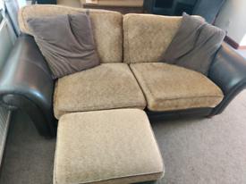 FREE sofa and pouffe