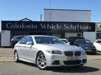 2011 61 BMW 5 SERIES 2.0 520D M SPORT 4D 181 BHP DIESEL