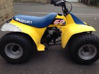 Suzuki LT50 kids petrol quad
