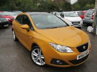 2010 SEAT IBIZA SPORT LIMITED EDITION PANORAMIC ROOF HATCHBACK PETROL