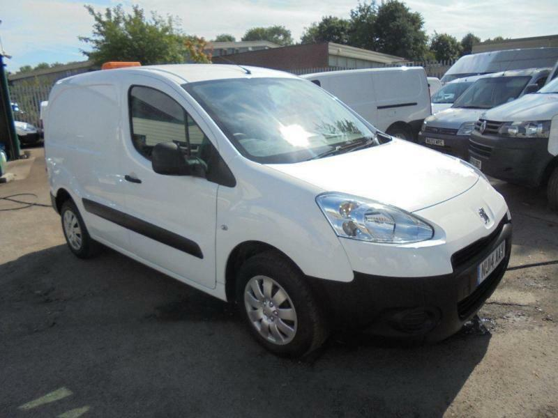 Peugeot Partner L1 850 S 1.6 Hdi 92 Van SLD DIESEL MANUAL WHITE (2014)