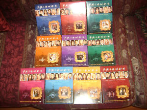 10 Seasons of Friends on DVD