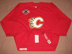 Chandail de Hockey Flames Practice Worn