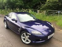 Mazda Rx8 full auto lower tax rate