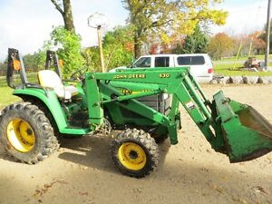 John Deere Tractor and Loader