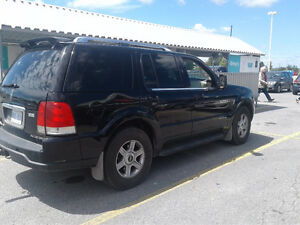2003 Lincoln Aviator Black SUV, Crossover