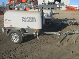 Wacker Neuson Light Towers x2