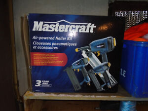 Craftsman air powered nailer kit for sale