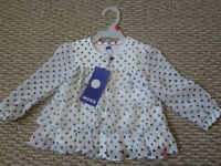 Beautiful NEW Mexx baby casual blouse - original tags attached!