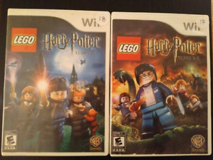 Two Lego Harry Potter games for Nintendo Wii
