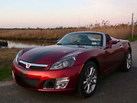 2009 Saturn Sky Ruby Red Special Edition Convertible