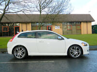 """2009 09 Volvo C30 2.5 T5 R-Design 230 bhp 2dr WITH FULL LEATHER+18"""" WHEELS"""