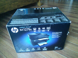 NEW HP LaserJet Pro M127fn Mono All-in-One Laser Printer