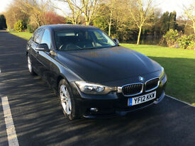 2012 BMW 3 SERIES SPORT 320D 2.0 TURBO DIESEL 180 BHP FULL LEATHER INTERIOR