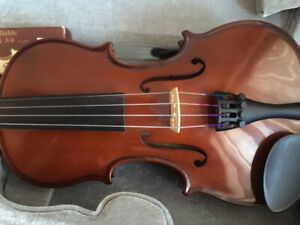 1/2 violin outfit for sale