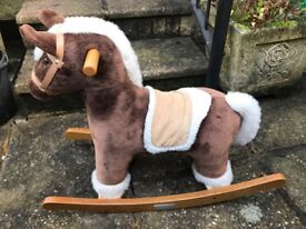 Mamas & Papas rocking horse with horse sounds