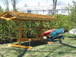 Kayak, Canoe, Paddleboard Storage Unit