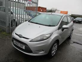 2010 Ford Fiesta Hatch 5Dr 1.25 60 Edge 5 Petrol silver Manual