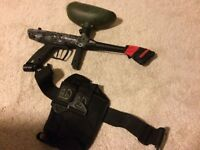 Tippmann gryphone (skull) paintball gun