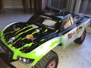 Traxxas Slash 2WD-Brushless-LCG-TSM-RTR-2S Lipo
