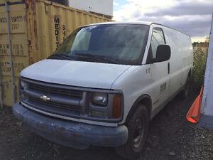 Chevrolet van 3500 diesel express