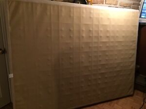 FREE - queen size box spring matress
