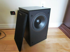Home Theatre or Stereo System Powered Subwoofer