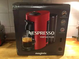 Nespresso Vertuo Plus in black - Almost New