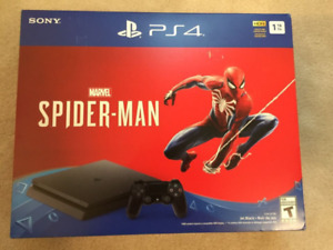Sony PlayStation PS4 Spider-Man Bundle (NEW)