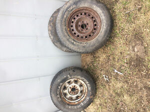 Selling 3 tires with rims