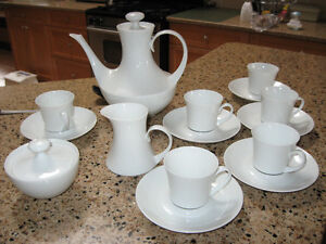 White china demitasse set Comox / Courtenay / Cumberland Comox Valley Area image 1