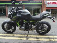 New 2019 Kawasaki Z650 Models now in stock Black and White