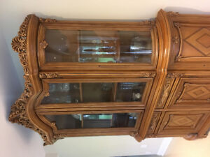 Hutch , buffet , sideboard