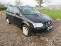 2005 VOLKSWAGEN TOURAN 1.9TDI 103 BHP S DIESEL MANUAL 5 DOOR MPV 7 SEATS