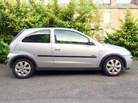 2004 Vauxhall Corsa SXI 1.2 3 Door Drives Superb. 12 Months Mot.