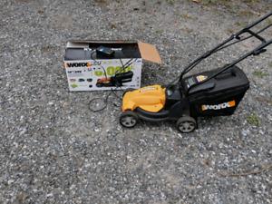 Worx battery mower
