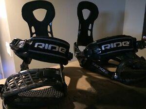 XL Rider snowboard bindings