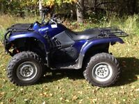 2006 Yamaha Grizzly 660, low miles!