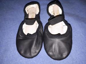 Little Girls Ballet Dance Shoes,Size 9.5,EUC