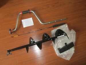 "8"" Ice Auger w/ Rapala Rod BRAND NEW"