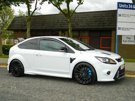 2010 59 Ford Focus 2.5 RS WITH LUX PACK 1+2 SATNAV/RECARO SEATS & REVERSE CAM