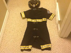 Women's fire fighter costume