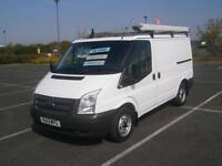 2013 13 FORD TRANSIT 2.2TDCi 100PS 280 SWB LOW ROOF PANEL VAN IN WHITE